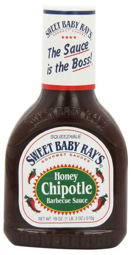 Sweet Baby Ray's BBQ Sauce – Honey Chipotle, 1er Pack (1 x 510 g Flasche)